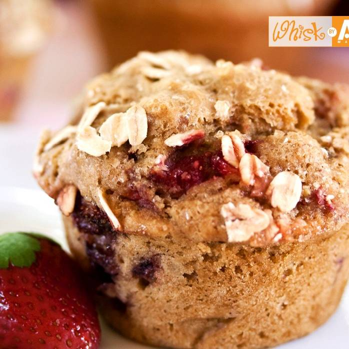 Strawberry-Rhubarb Muffins | Recipes | Kosher.com
