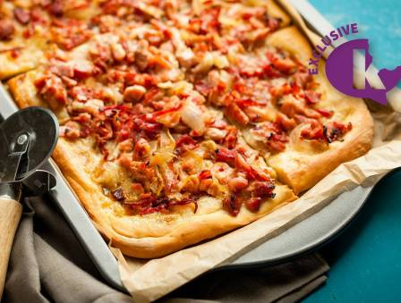 8PM- Meat Pizza