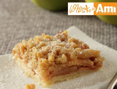 Apple Crumb Squares