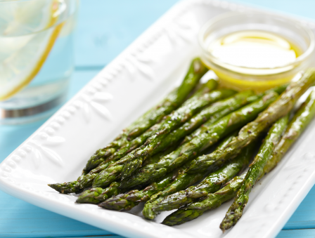 Asparagus with Orange Vinaigrette