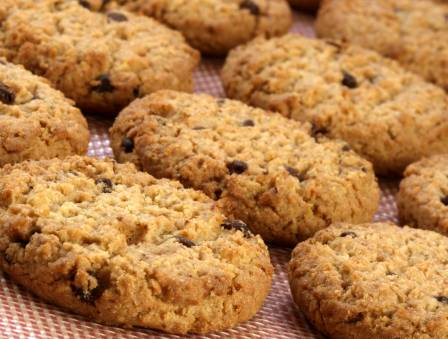 Aviva's Oatmeal Chocolate Chip Cookies