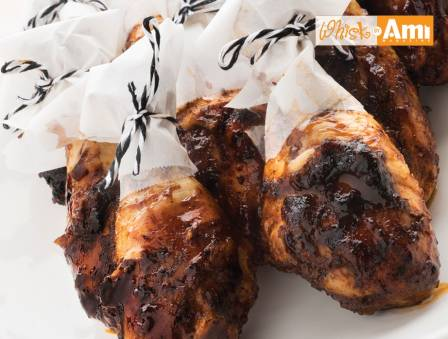 Barbecue Drumsticks with Honey Glaze