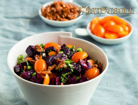 Beet Salad with Candied Nuts