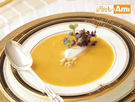 Butternut Squash and Basil Soup