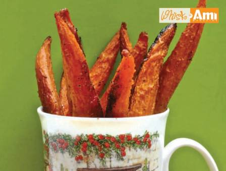 Cajun Carrot Fries