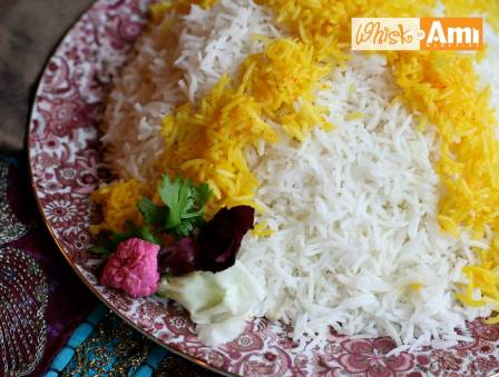 Chelo: Persian Steamed White Rice