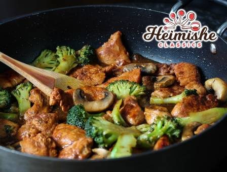 Chinese Style Chicken with Broccoli
