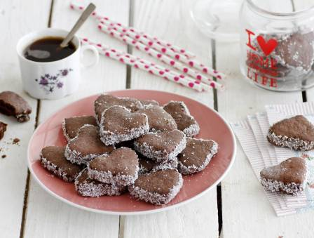 Chocolate Alfajores Cookies