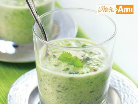 Cold Cucumber, Yogurt, and Dill Soup