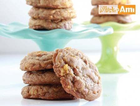 Caramel Crunch Cookies