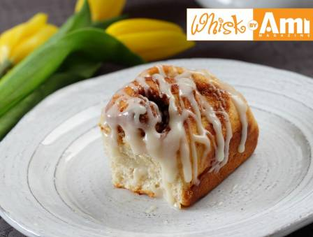 Decadent Low Fat Dairy Cinnamon Buns