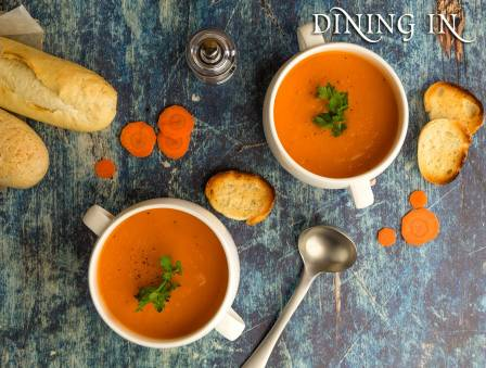 Dairy Carrot Soup
