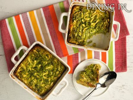Diet Broccoli Kugel