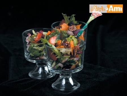 Dried Fruit Salad with Balsamic Dressing