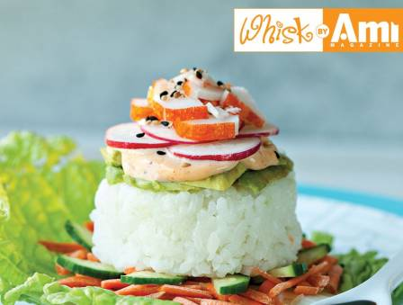 Easy, Stunning Sushi Stacks