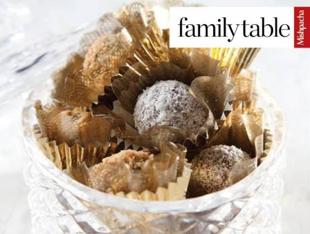 Date Balls with Coconut and Hazelnut Coating