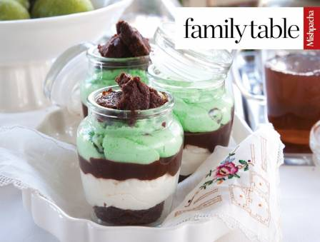 Vanilla Mint Trifle