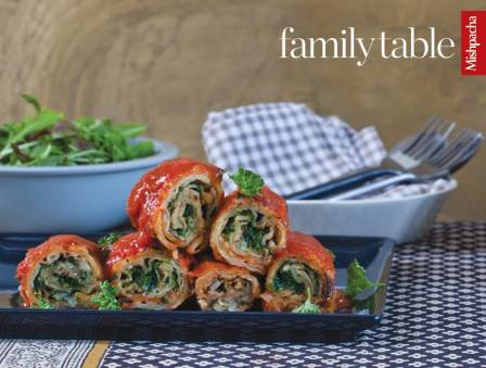 Spinach-Eggplant Roll-Ups