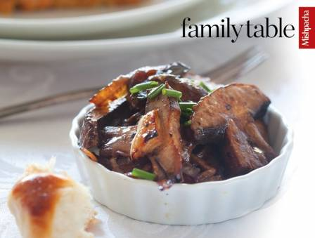 Soy-Glazed Portobello Mushrooms