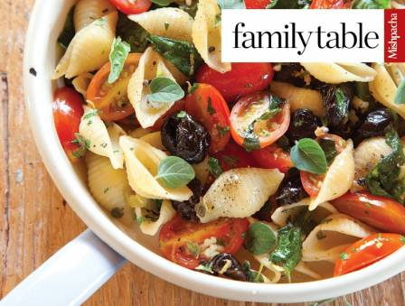 Middle Eastern Pasta with Gremolata