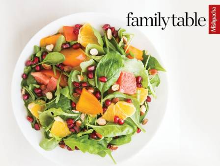 Citrus Spinach Salad with Creamy Orange Ginger Dressing