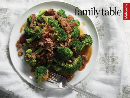 Balsamic Broccoli with Duck Fry