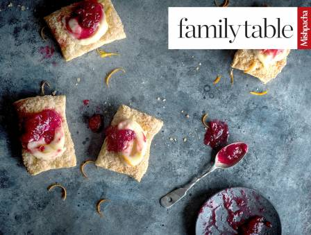 Cranberry-Custard Pastry Squares