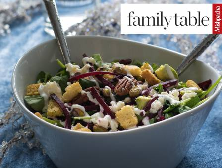 Delightful Salad with Dairy Dressing