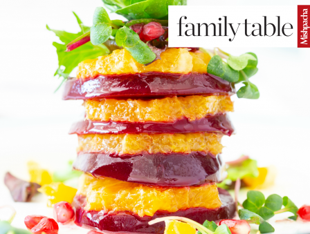 Beet and Citrus Stacks