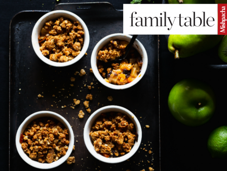 Apple-Pear Fruit Crumble