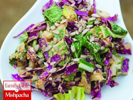 Thai-style Bok Choy Cabbage Salad