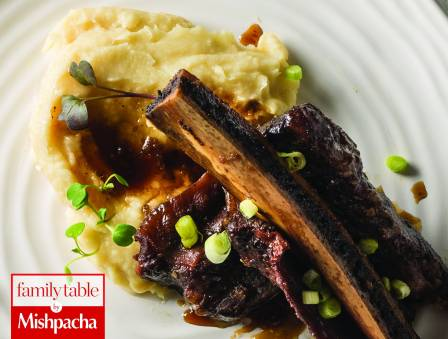 Spare Ribs with Parsnip Mash