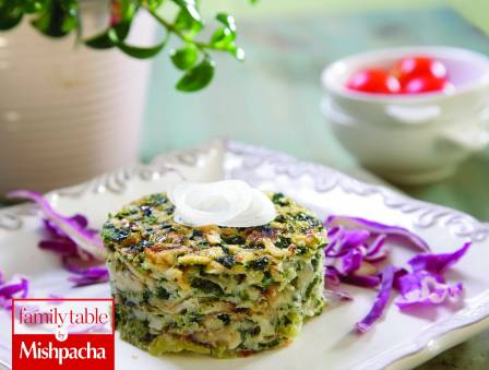 Broccoli Spinach Kugel