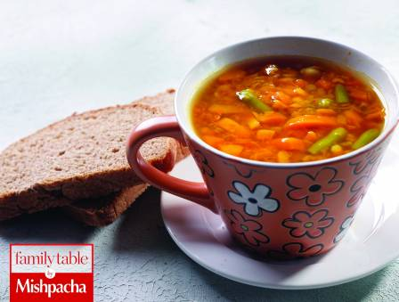 Spanish Style Vegetable Soup