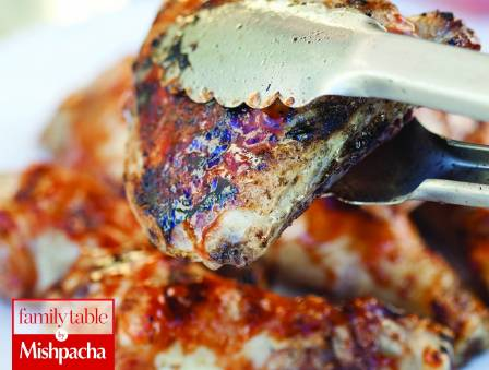 Easy Grilled Chicken with Asian Barbeque Sauce
