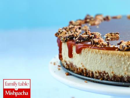 Toffee Crunch Caramel Cheesecake