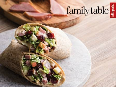 Curried Smoked Turkey Salad Wraps