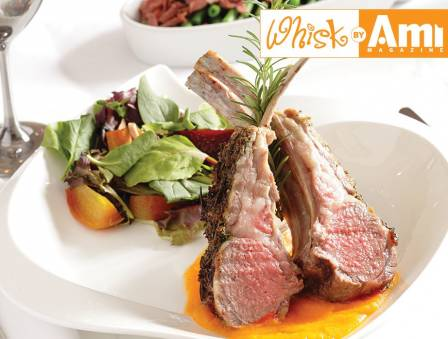 Herb-Crusted Baby Lamb Chops with Butternut Squash Purée