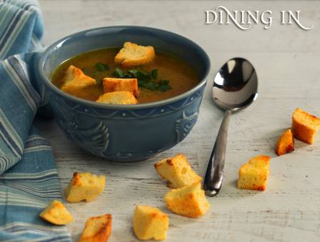 Homemade Soup Croutons
