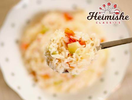"""Hungarian Rice """"Letcho"""""""