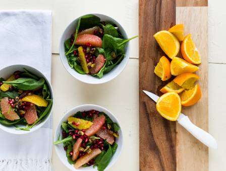 Blood Orange Pomegranate Salad
