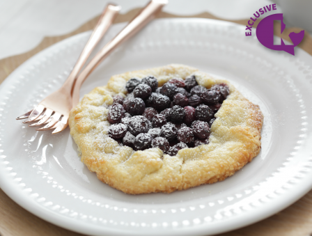 Seasons of a Pastry Chef - Blueberry Crostata
