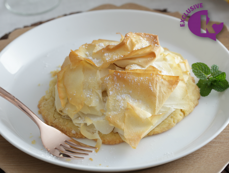 Seasons of a Pastry Chef - Apple Phyllo Tart