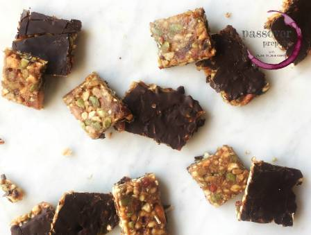 Kosher for Pesach Granola Bars