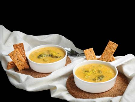 Sweet Potato Broccoli Soup