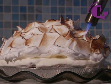 Lemon Meringue Ice Cream Tart
