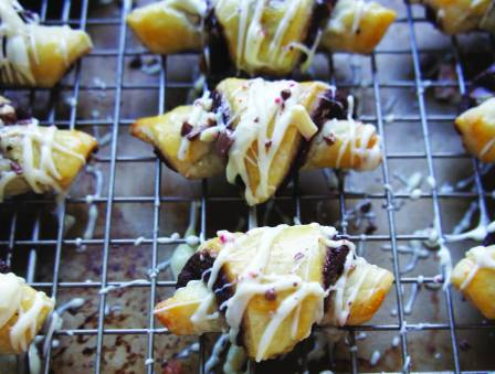 Chocolate Peppermint Rugelach