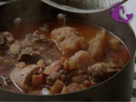 Shabbos with Yussi: Cholent for Passover (Gluten Free)
