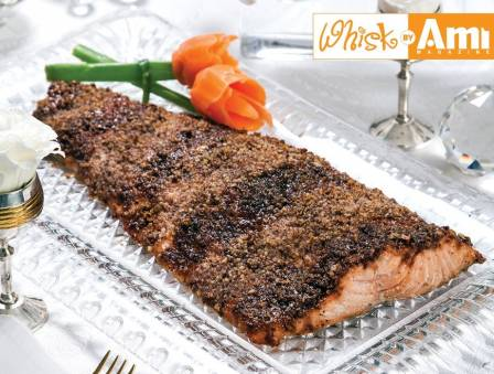 Pecan Encrusted Side of Salmon