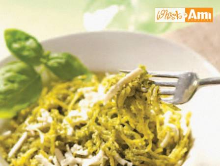 "Pesto Chicken ""Pasta"""